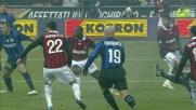 Il tentativo di Seedorf nel derby va a sbattere contro Julio Cesar