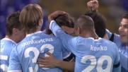 Il terzo tempo di Biava vale il primo goal per la Lazio contro il Novara