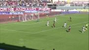 Il tiro di Duncan si stampa sul palo in Livorno-Atalanta