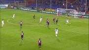 Il tiro di Pucciarelli  è fuori di pochi centimetri a Genova
