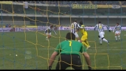 Il tiro di Sardo batte Buffon e consegna il successo al Chievo Verona