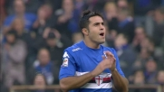 Il tiro in controbalzo di Eder spaventa l'Udinese ma termina fuori