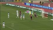 Il tocco di Floro Flores spiazza Muslera e il pallone finisce in goal