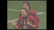 Il tris del Milan contro la Fiorentina arriva con il goal di Shevchenko