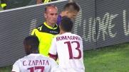 Ilicic conquista il calcio di rigore contro il Milan