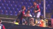 Immobile porta in vantaggio il Genoa contro la Juventus