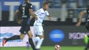 Immobile porta in vantaggio la Lazio a Bergamo