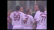Improperi verso l'arbitro, Lucarelli viene espulso in Fiorentina-Livorno