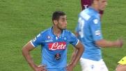 In 4 minuti Ghoulam si fa espellere nel big-match Napoli - Lazio