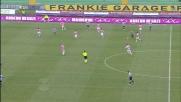 Incornata di Sanchez, palla sulla traversa in Udinese-Palermo