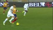 Inserimento centrale e goal per Cana contro il Lecce