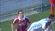Inserimento perfetto di Flamini che realizza il goal del tris Milan