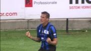 Inserimento vincente per Denis che sigla il goal della doppietta personale in Atalanta - Udinese