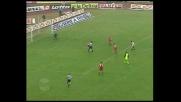 Intervento in scivolata prodigioso di Dino Baggio contro l'Udinese