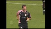 Intesa perfetta tra Makinwa e Gonzalez. il Palermo va ancora in goal all'Olimpico di Roma
