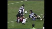 Inzaghi beffa Buffon con un tunnel e firma la vittoria del Milan sulla Juventus