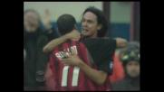 Inzaghi chiude il match con il Modena con goal di testa