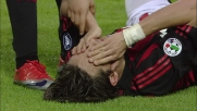 Inzaghi, goal di testa per il raddoppio del Milan