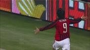 Inzaghi mette a segno il goal della vittoria contro il Palermo