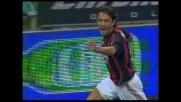 Inzaghi realizza il goal del 3-0 del Milan contro la Sampdoria