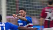 Soriano conclude in goal un assist di Eto'o e beffa il Milan