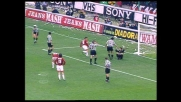 Colpo di testa di Baggio deviato in angolo da una super parata di Peruzzi