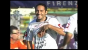 Il diagonale vincente di Di Michele porta in vantaggio il Palermo contro la Fiorentina