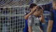 Castellazzi salva la porta dell'Inter da un perfetto colpo di testa di Cascione