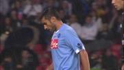 Pazienza già ammonito tocca il pallone col braccio, secondo giallo e Napoli in dieci