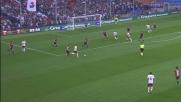 El Shaarawy si porta a spasso la difesa del Genoa e cerca il gran goal: palla a lato di un niente!