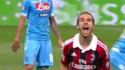 Il goal di Flamini da fuori area fa gioire il Milan