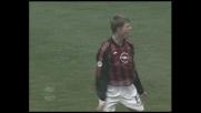 Il goal di Tomasson ridà speranza al Milan contro l'Atalanta