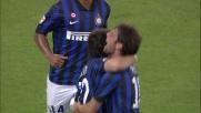 Milito beffa Bizzarri dal dischetto in Inter-Lazio
