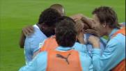 Mauri regala all'Olimpico un goal da sogno contro il Napoli