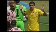 Rigore per il Palermo: Kolarov affossa Miccoli in area!
