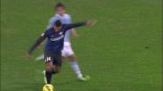 Guarin da fuori, palo dell'Inter