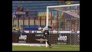Talamonti insacca il goal del pareggio della Lazio a San Siro