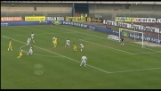 Bentivoglio a un passo dal goal contro l'Udinese