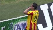 Corvia segna il goal del pareggio del Lecce contro il Cagliari!