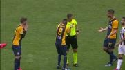 jacopo Sala entra in tackle da dietro su Thereau e viene espulso