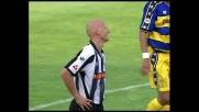 Jancker prova il destro rasoterra, ma calcia fuori in Udinese-Parma