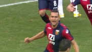 Jankovic con un tiro al volo porta in vantaggio il Genoa