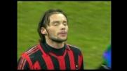 Jankulovski con un gran sinistro cerca il goal contro il Lecce: palla fuori