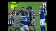 Jankulovski infuriato contro Mannini viene espulso contro il Brescia