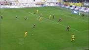 Jansson in tackle stoppa il tentativo di Toni in Torino-Verona