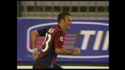 Super Langella, segna il goal del successo del Cagliari