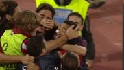 Jeda di testa porta in vantaggio il Cagliari