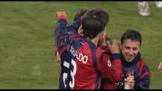 Jeda realizza il goal che illude il Cagliari al Friuli