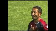 Jeda, tuffo di testa per il goal del Cagliari