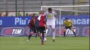 Jimenez non perdona, goal del Cesena a Cagliari